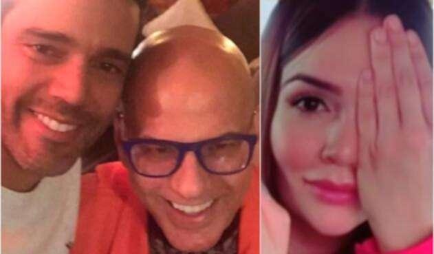 Alejandro García, Gabriel Blanco y Lina Tejeiro