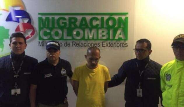 Alias El Lobo Feroz por primera vez ante la justicia de Colombia