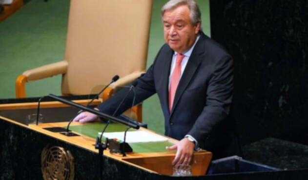 Antonio Guterres resalta la intención de Duque de proteger la paz