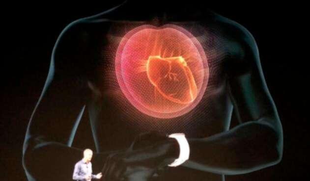 Hacer electrocardiogramas, uno de los servicios del Apple Watch