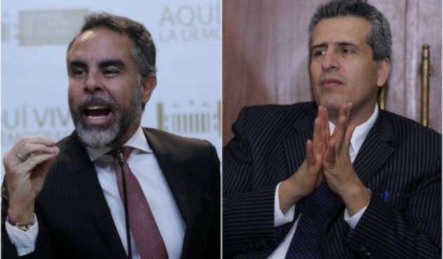 Armando Benedetti y Luis Fernando Velasco, congresistas