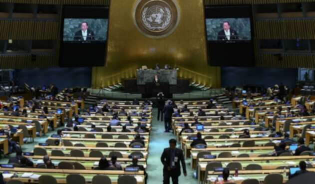 Asamblea de la ONU en Nueva York
