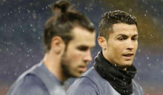 Gareth Bale y Cristiano Ronaldo.