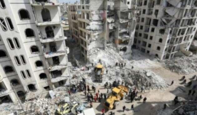 Provincia de Idlib en Siria.