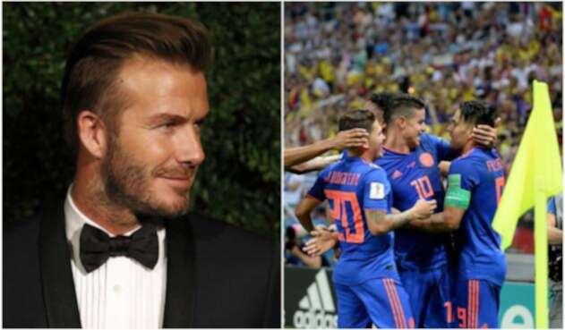 David Beckham - Selección Colombia