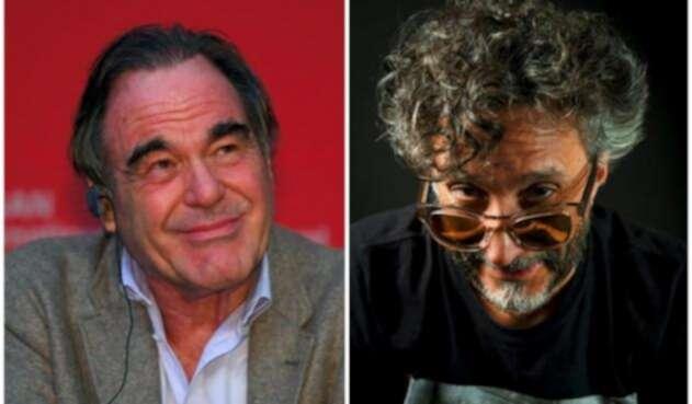 Oliver Stone y Fito Páez