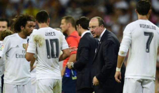 James y Rafa Benitez