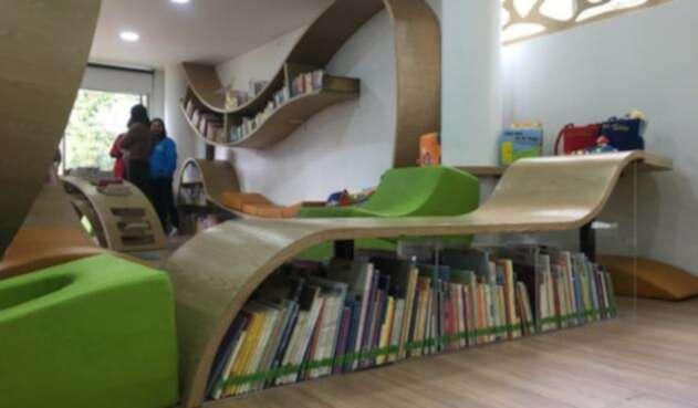 Biblioteca en el Parque Nacional