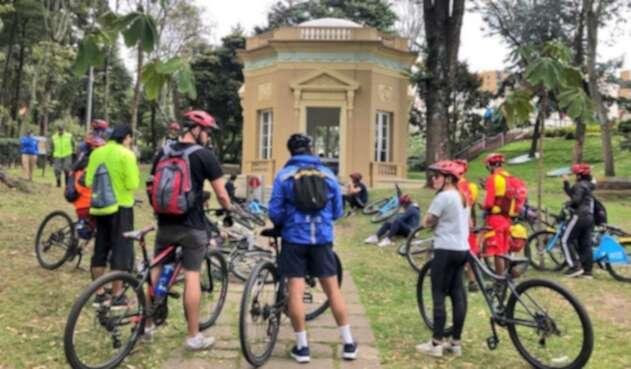 Semana de la bicicleta en Bogotá