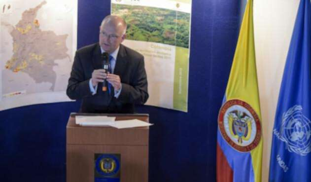 Bo Mathiasen, representante de la UNODC en Colombia