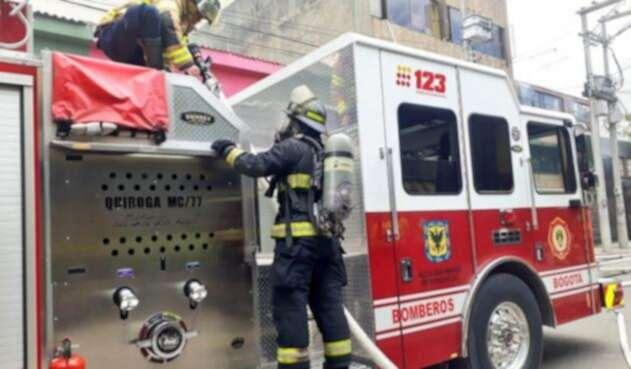 Camión de bomberos de Bogotá