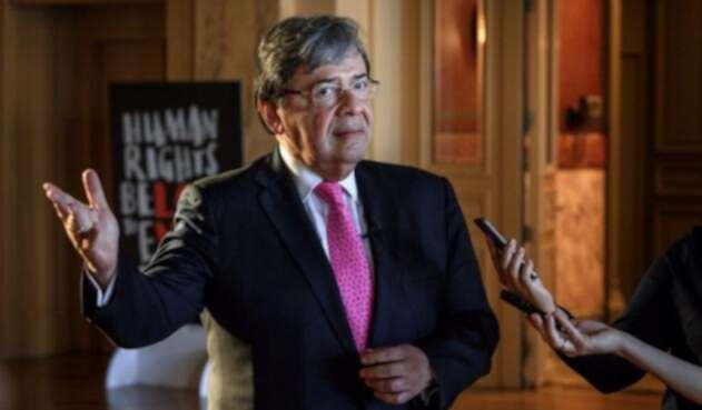 Canciller colombiano, Carlos Holmes Trujillo