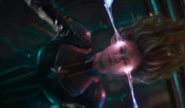 Escena del tráiler de Captain Marvel