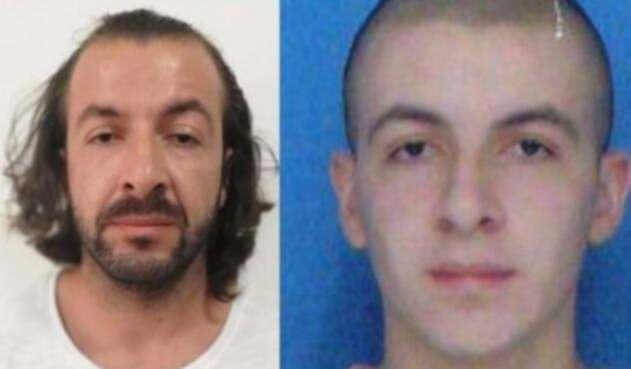 A la izquierda, Felipe Gómez Hoyos al momento de la captura y a la derecha, como aparecía en el cartel de los más buscados.