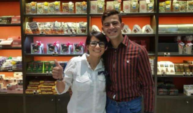 Eugenia López y Carlos Duarte