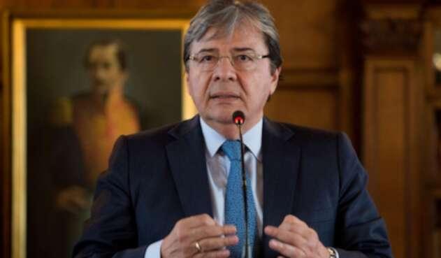 Carlos Holmes Trujillo, canciller de Colombia del gobierno Duque
