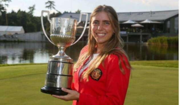 Celia Barquín, golfista española que fue encontrada muerta en un campo de EEUU