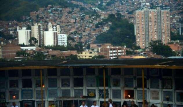 Cementerio San Javier, en Medellín