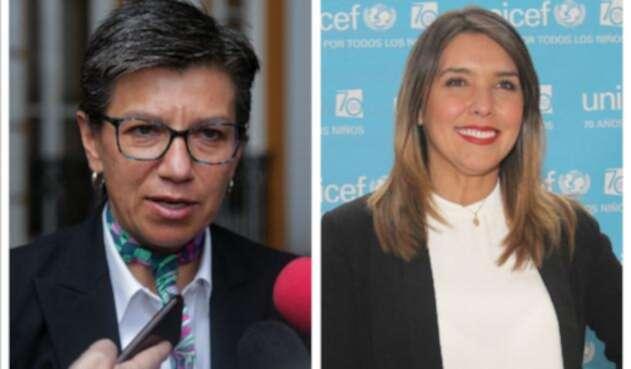 Claudia López y Mónica Rodríguez, permanentes críticas del Centro Democrático.