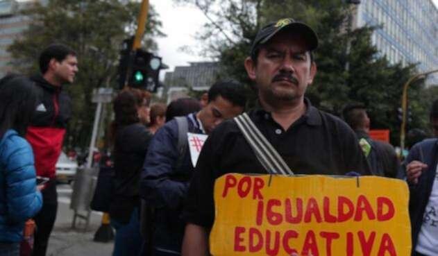 Paro nacional de educadores