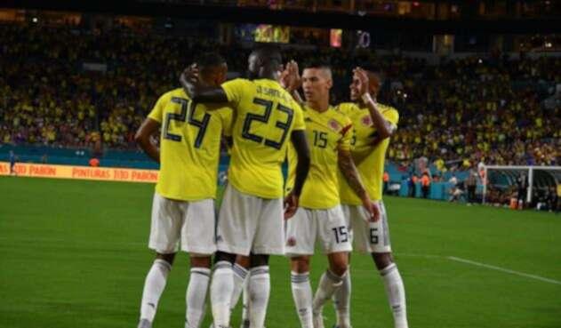 Selección Colombia en los amistosos de la fecha FIFA