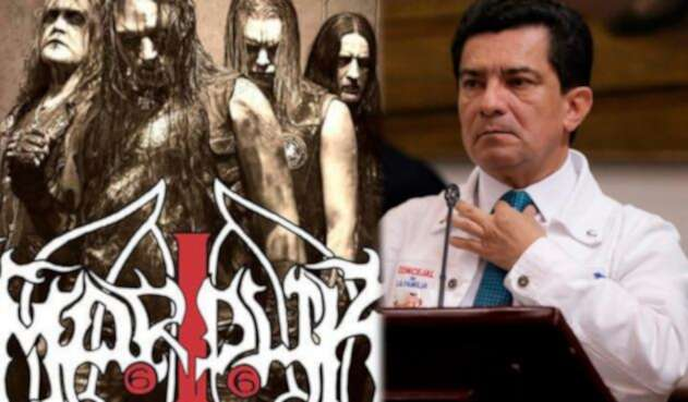 El concejal Marco Fidel Ramírez ataca a Marduk por ser una banda satánica