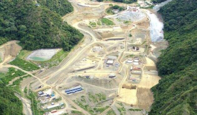 Imagen aérea de Continental Gold