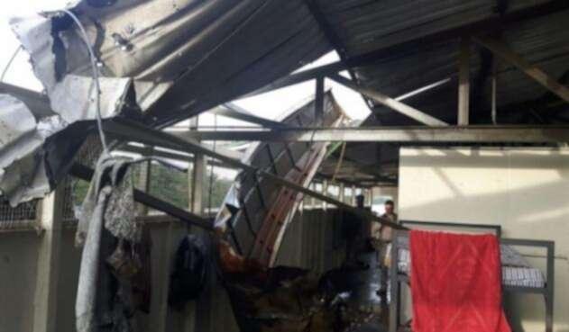 En Arauca atacaron 'casa flotante' de la Armada Nacional