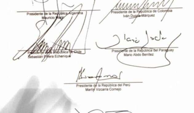 El documento con el que se pide a la CPI investigar a Maduro