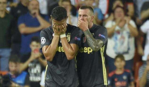 Cristiano Ronaldo fue expulsado del encuentro