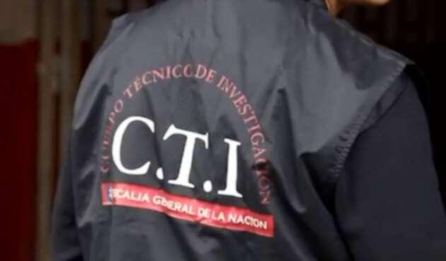 CTI de la FIscalía General de la Nación