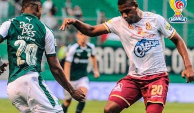 Deportes Tolima, tras imponerse ante Deportivo Cali en la fecha 11 de la Liga Águila