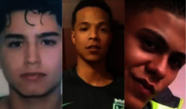 Tres jóvenes desaparecidos en la Comuna 13.