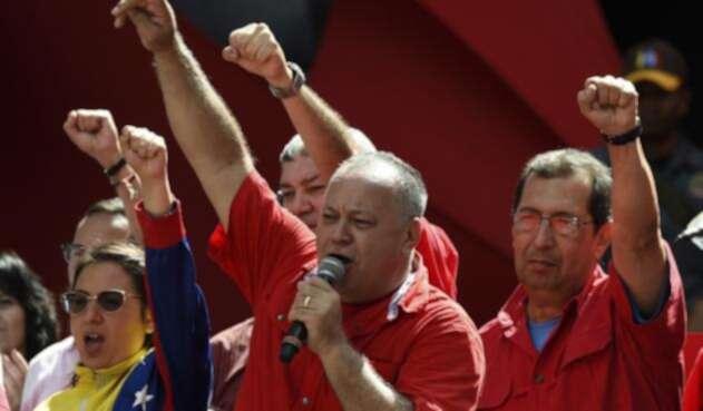 Diosdado Cabello, presidente de la oficialista Asamblea Nacional Constituyente