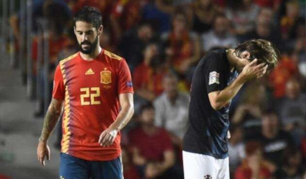 España goleó a Croacia en la Liga de las Naciones