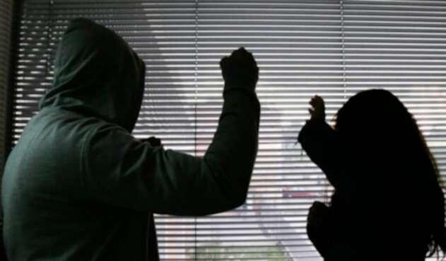 Maltrato contra la mujer en Colombia.