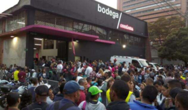 Feria de empleo para venezolanos en Medellín.