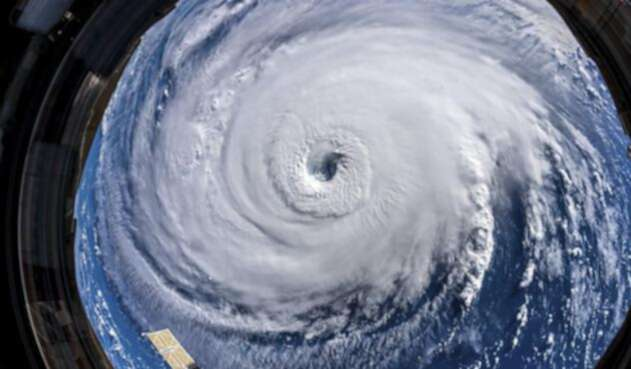 Huracán Florence desde el espacio