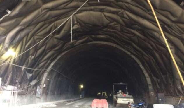 Obras del Túnel de la Línea