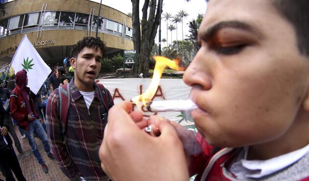 La fumatón en Bogotá el 6 de septiembre de 2018