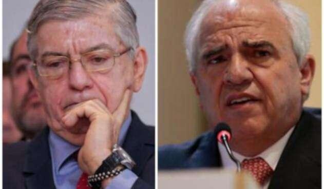 César Gaviria y Ernesto Samper