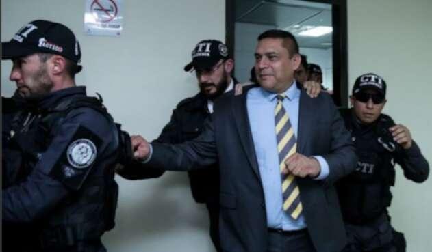General (r.) Humberto Guatibonza, capturado por 'chuzadas'