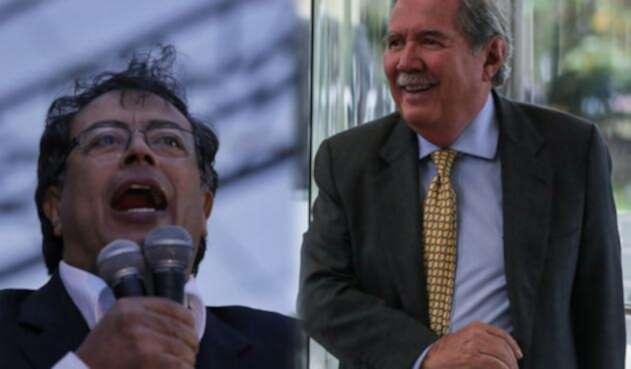 Gustavo Petro y Guillermo Botero