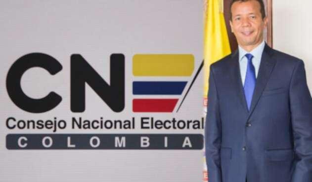 Heriberto Sanabria, presidente del CNE