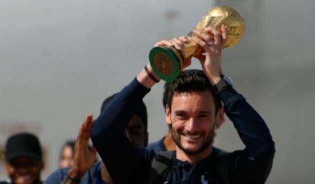 Hugo Lloris, portero de Francia y Tottenham