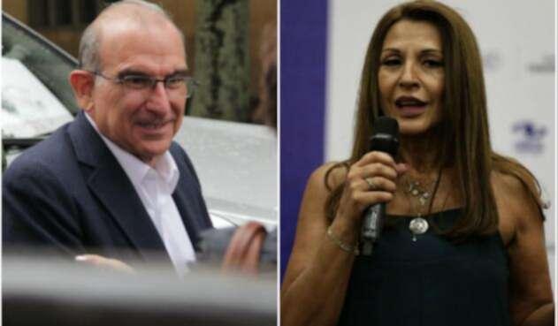 Humberto De la Calle y Amparo Grisales chocaron por debate de feminismo
