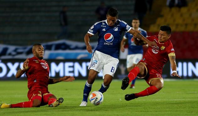 Millonarios vs Rionegro Águilas en la disputa de las fecha 7 de la Liga Águila
