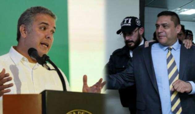 El presidente Iván Duque y la captura de Humberto Guatibonza