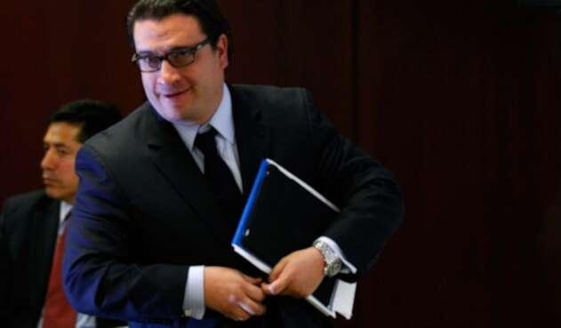 Iván Cancino, abogado