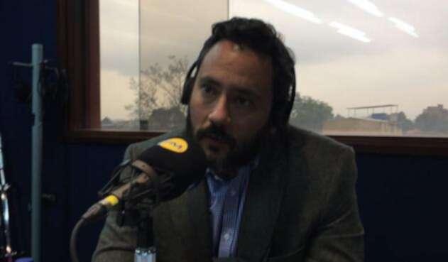 Jairo García, secretario de Seguridad de Bogotá